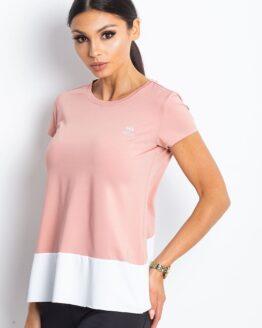 Marškinėliai Sportui Rožiniai moteriški
